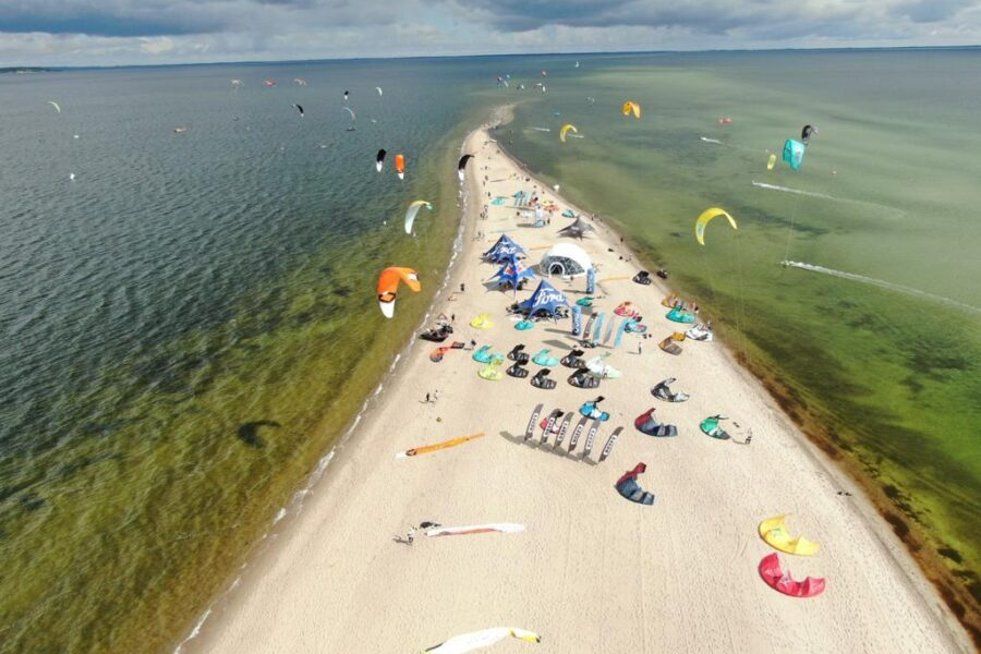 best kitesurfing spot in Poland