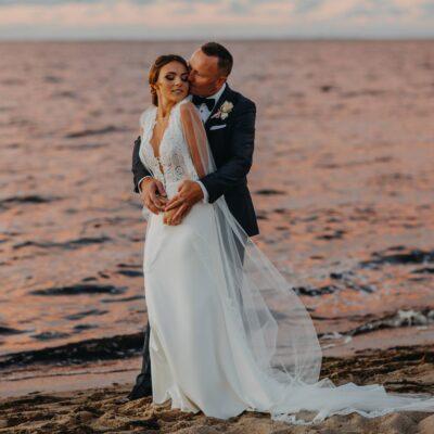 zaslubiny i wesele nad morzem